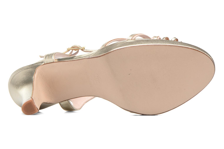 Sandali e scarpe aperte Anna Volodia Flora 3 Oro e bronzo immagine dall'alto