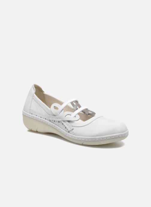 Ballet pumps Dkode Nilda White detailed view/ Pair view