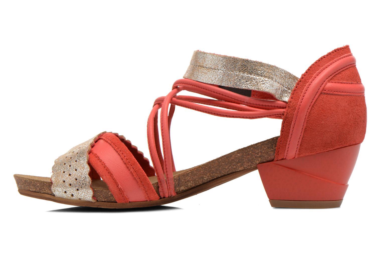 Sandales et nu-pieds Dkode Rain Rouge vue face