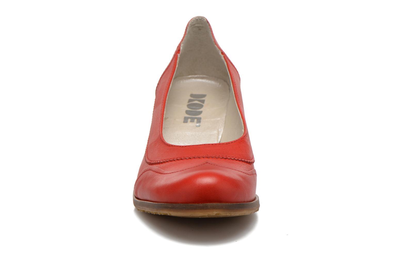 Escarpins Dkode Valdis Rouge vue portées chaussures