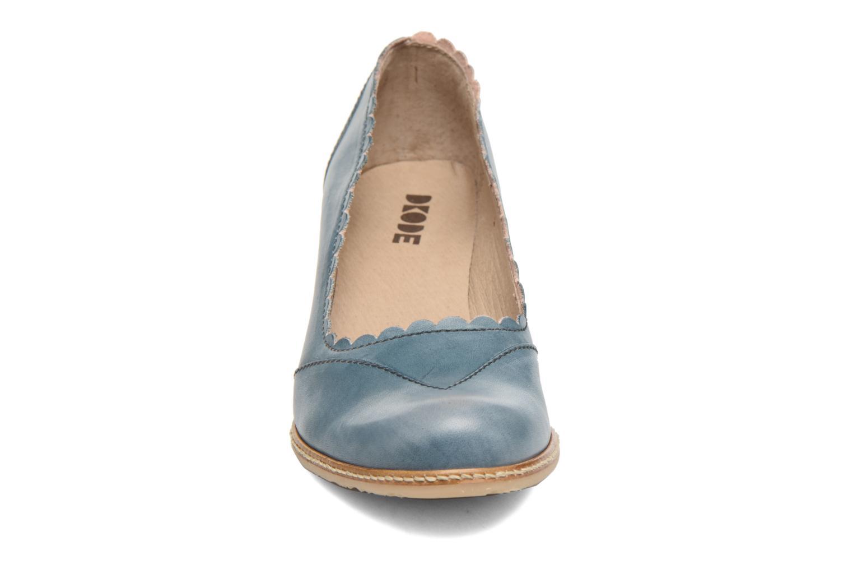Escarpins Dkode Valdis Rose vue portées chaussures