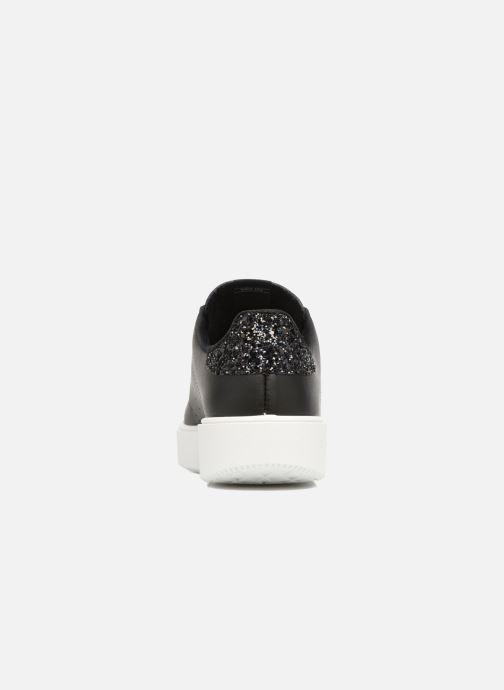 Sneakers Victoria Tenis Piel W Nero immagine destra