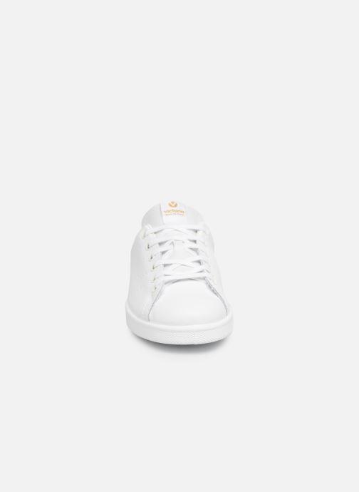 Baskets Victoria Deportivo Piel Or et bronze vue portées chaussures