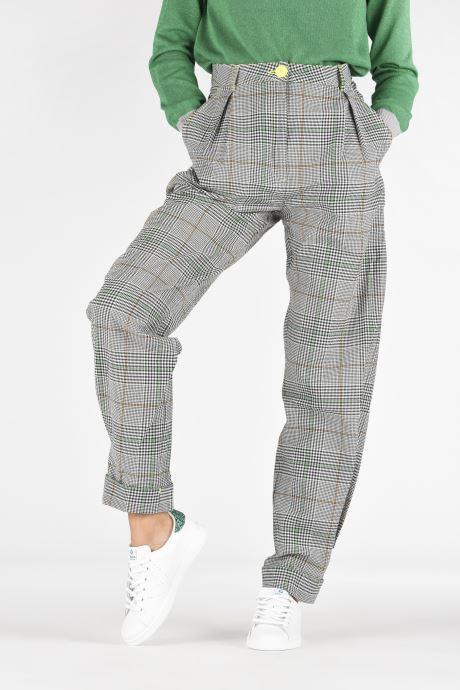 Sneaker Victoria Deportivo Piel weiß ansicht von unten / tasche getragen