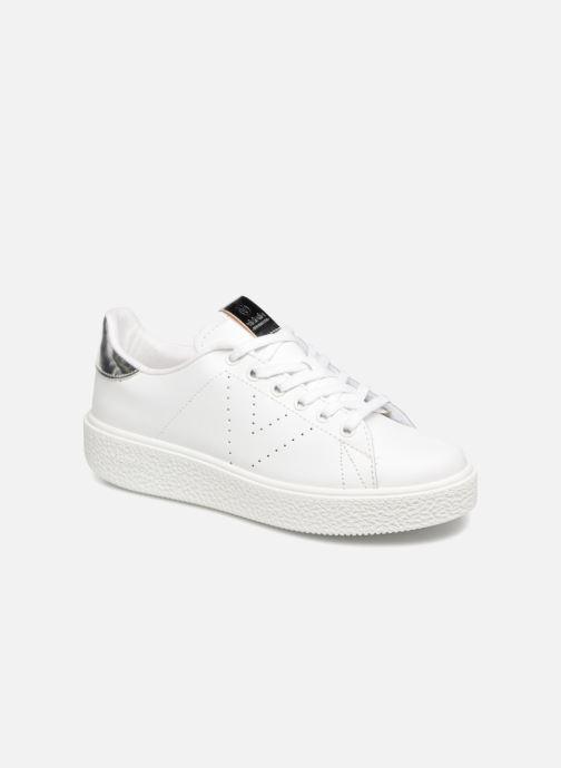 Baskets Victoria Tenis Piel W Blanc vue détail/paire