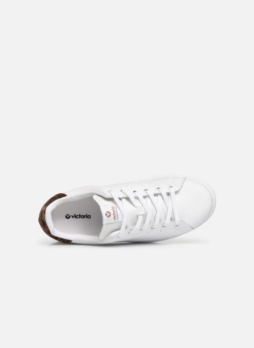 Sneakers Victoria Deportivo Piel Wit links