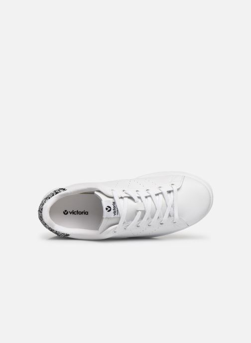 Trainers Victoria Deportivo Piel White view from the left