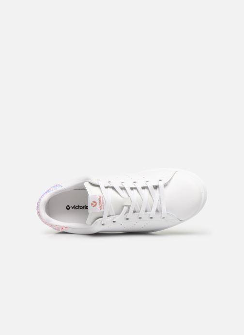 Sneakers Victoria Deportivo Piel Rosa immagine sinistra