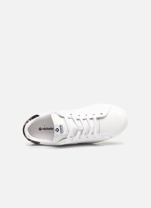 Sneakers Victoria Deportivo Piel Nero immagine sinistra