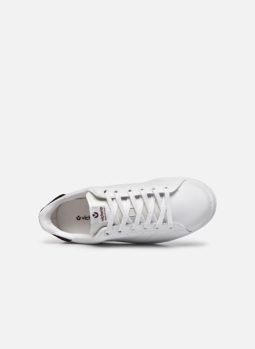 Sneakers Victoria Deportivo Piel Viola immagine sinistra