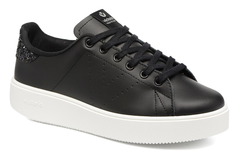 Victoria Deportivo Piel (schwarz) (schwarz) Piel Sneaker bei Sarenza  (291108) d60ced