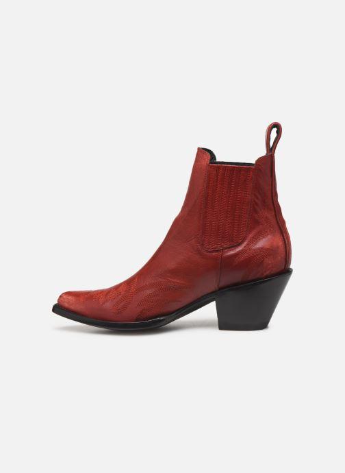 Ankelstøvler Mexicana Gaucho Rød se forfra