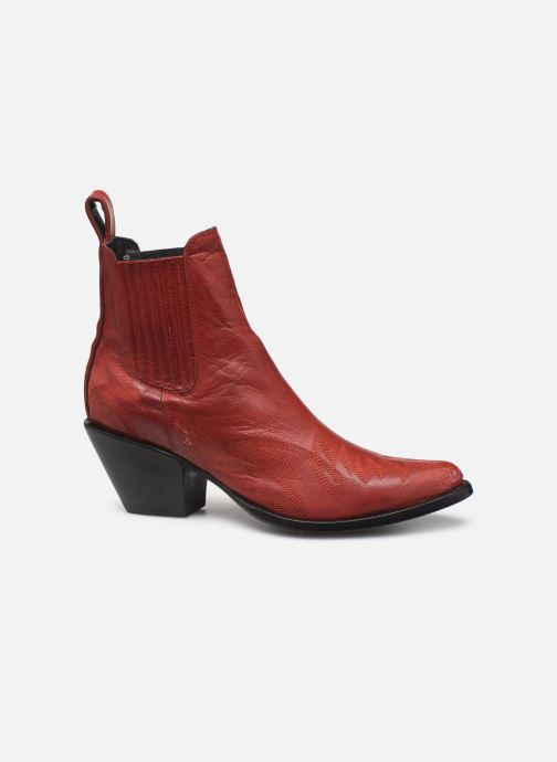 Ankelstøvler Mexicana Gaucho Rød se bagfra