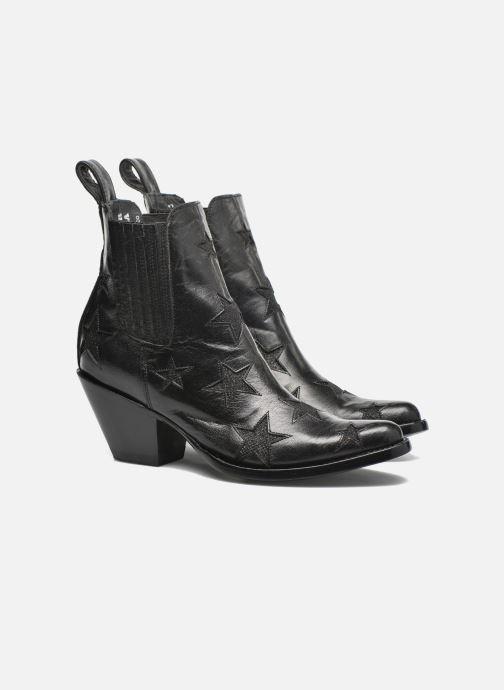 Bottines et boots Mexicana Circus Noir Brillant Noir vue 3/4