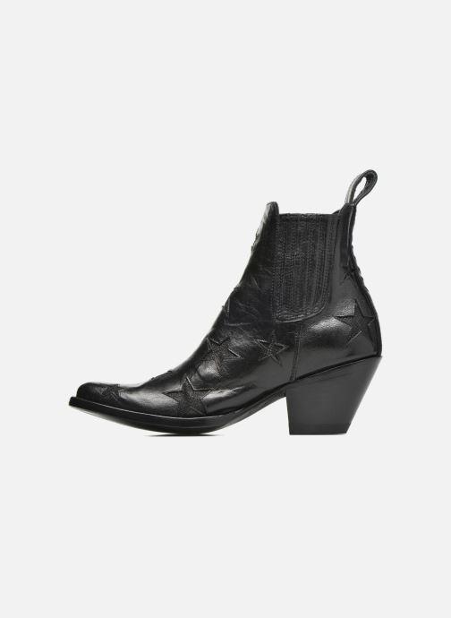 Bottines et boots Mexicana Circus Noir Brillant Noir vue face