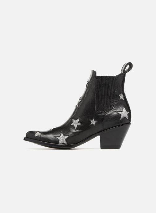 Bottines et boots Mexicana Circus Noir Brillant Noir vue face