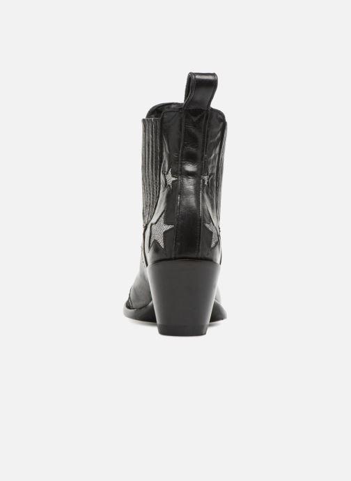Bottines et boots Mexicana Circus Noir Brillant Noir vue droite