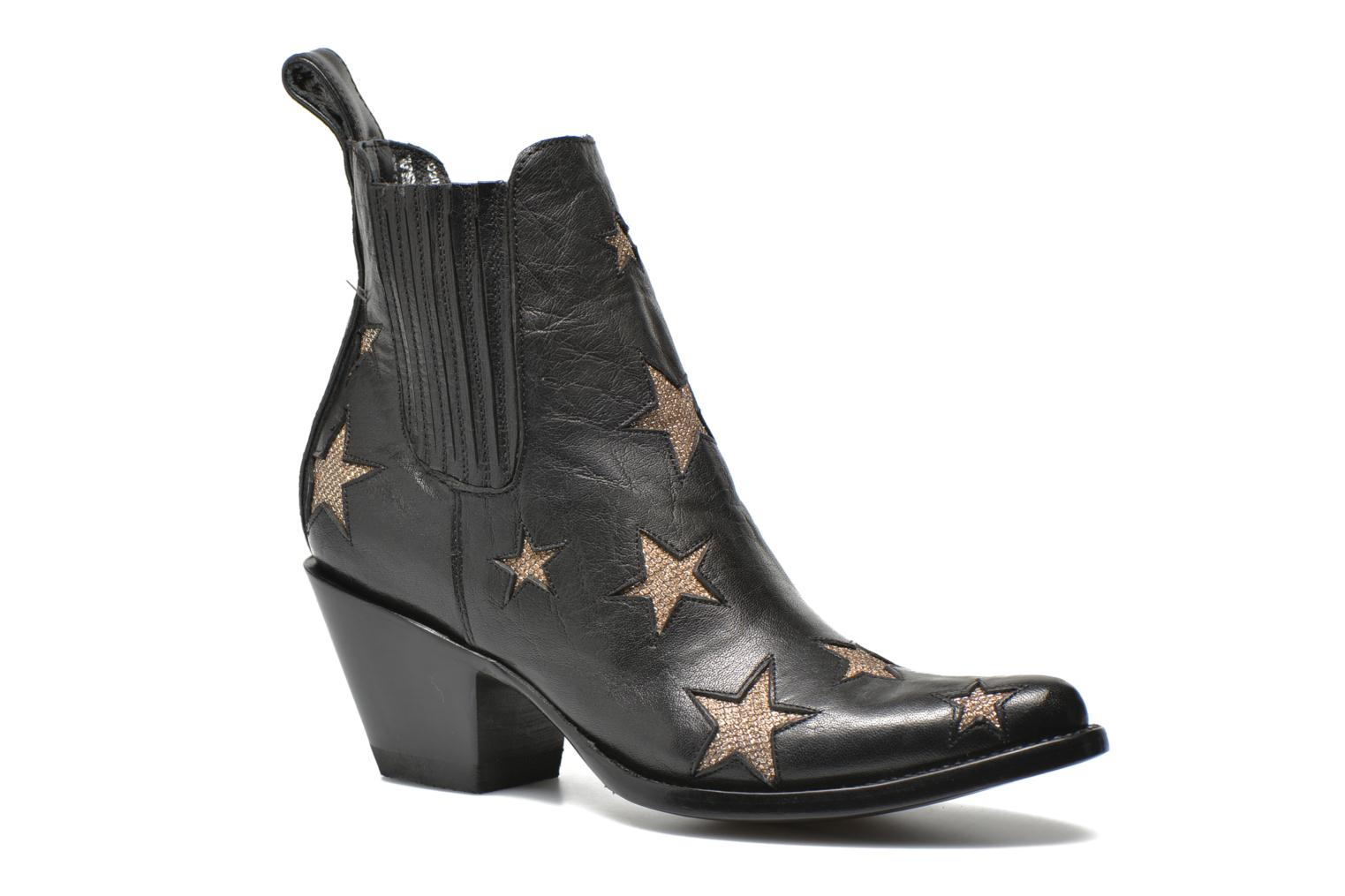 Ankle boots Mexicana Circus Black detailed view/ Pair view