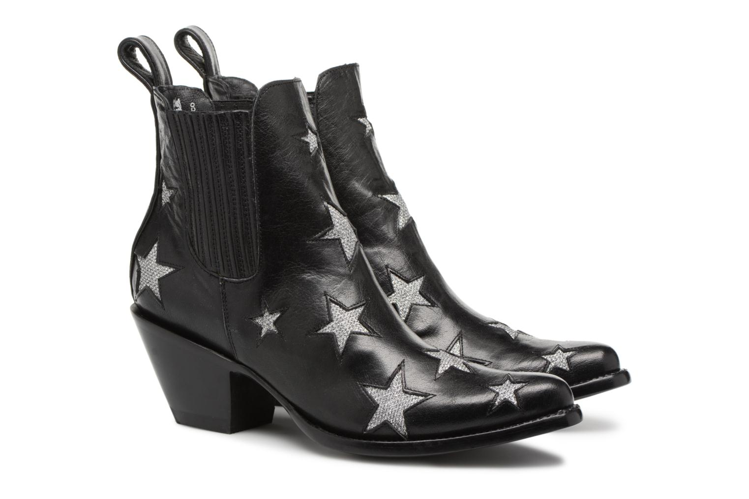 Ankle boots Mexicana Circus Black 3/4 view