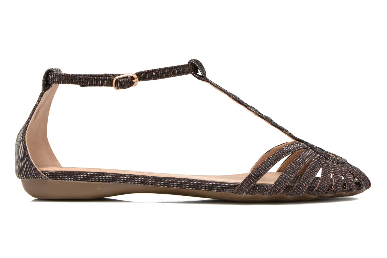Sandales et nu-pieds Refresh Monica Or et bronze vue derrière