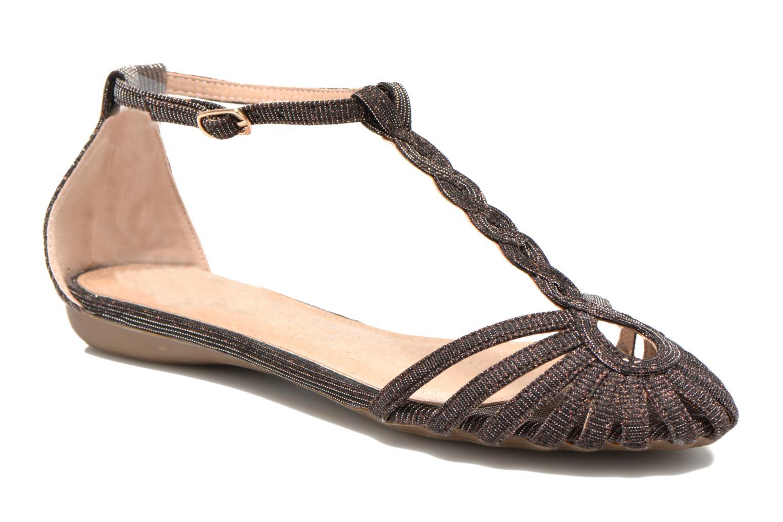 Sandales et nu-pieds Refresh Monica Or et bronze vue détail/paire
