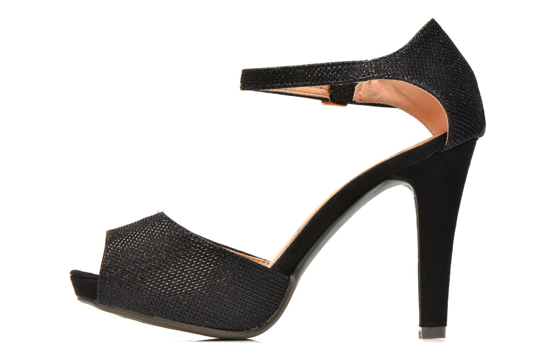 Sandals Refresh Lena Black front view