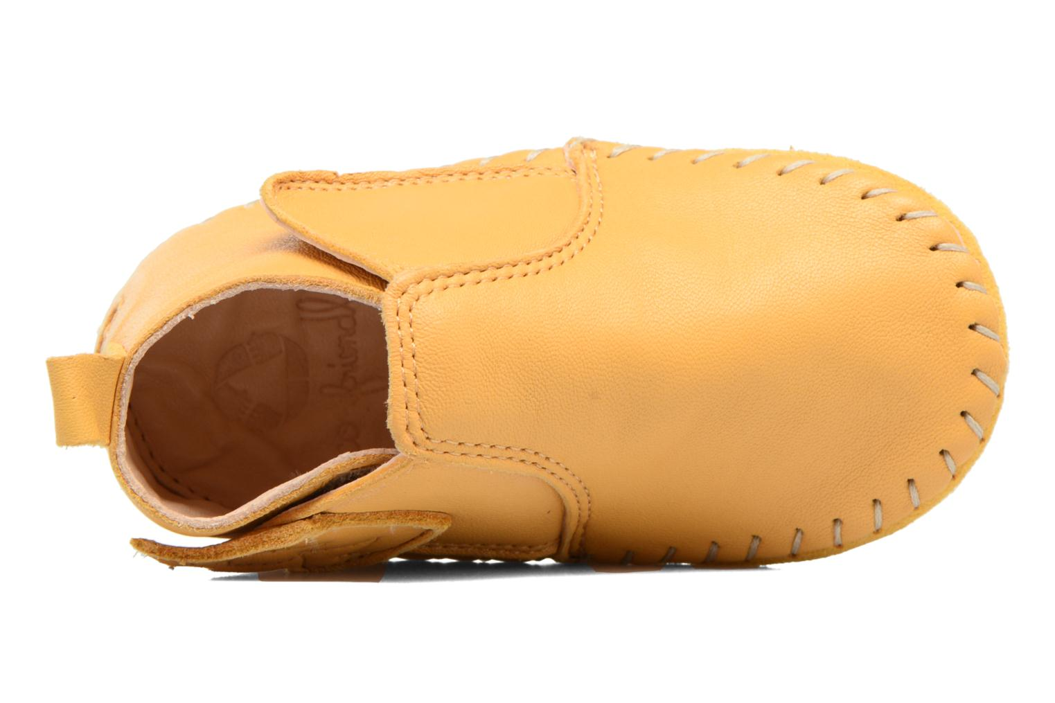 Slippers Easy Peasy Bomok Aile Yellow view from above