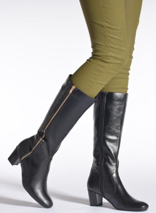 Boots & wellies Enza Nucci Clara Black view from underneath / model view