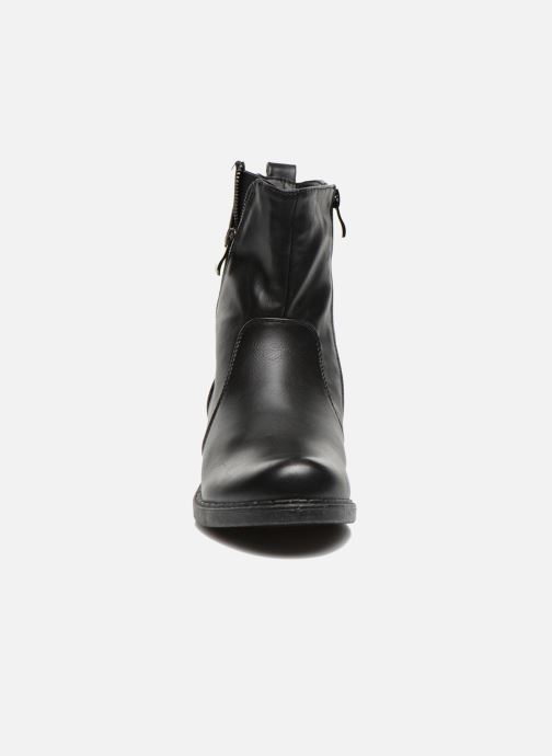 Bottines et boots Enza Nucci Monica Noir vue portées chaussures