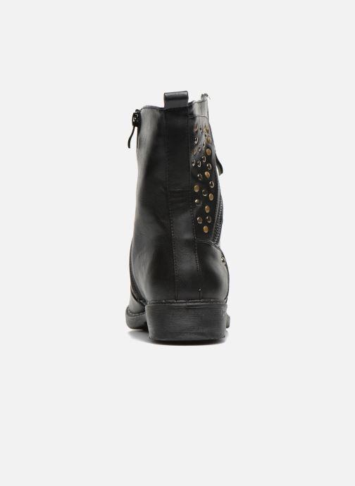 Bottines et boots Enza Nucci Monica Noir vue droite