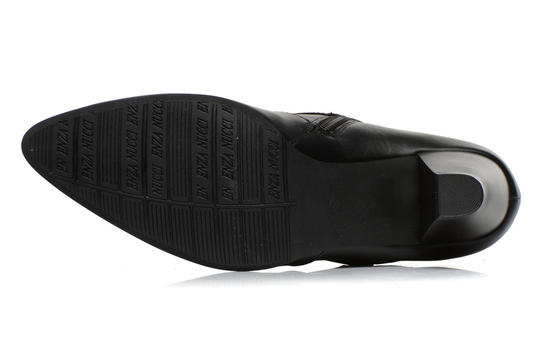Bottines et boots Enza Nucci Maeva Noir vue haut