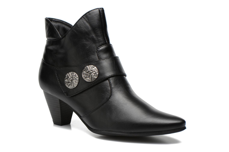 Bottines et boots Enza Nucci Maeva Noir vue détail/paire