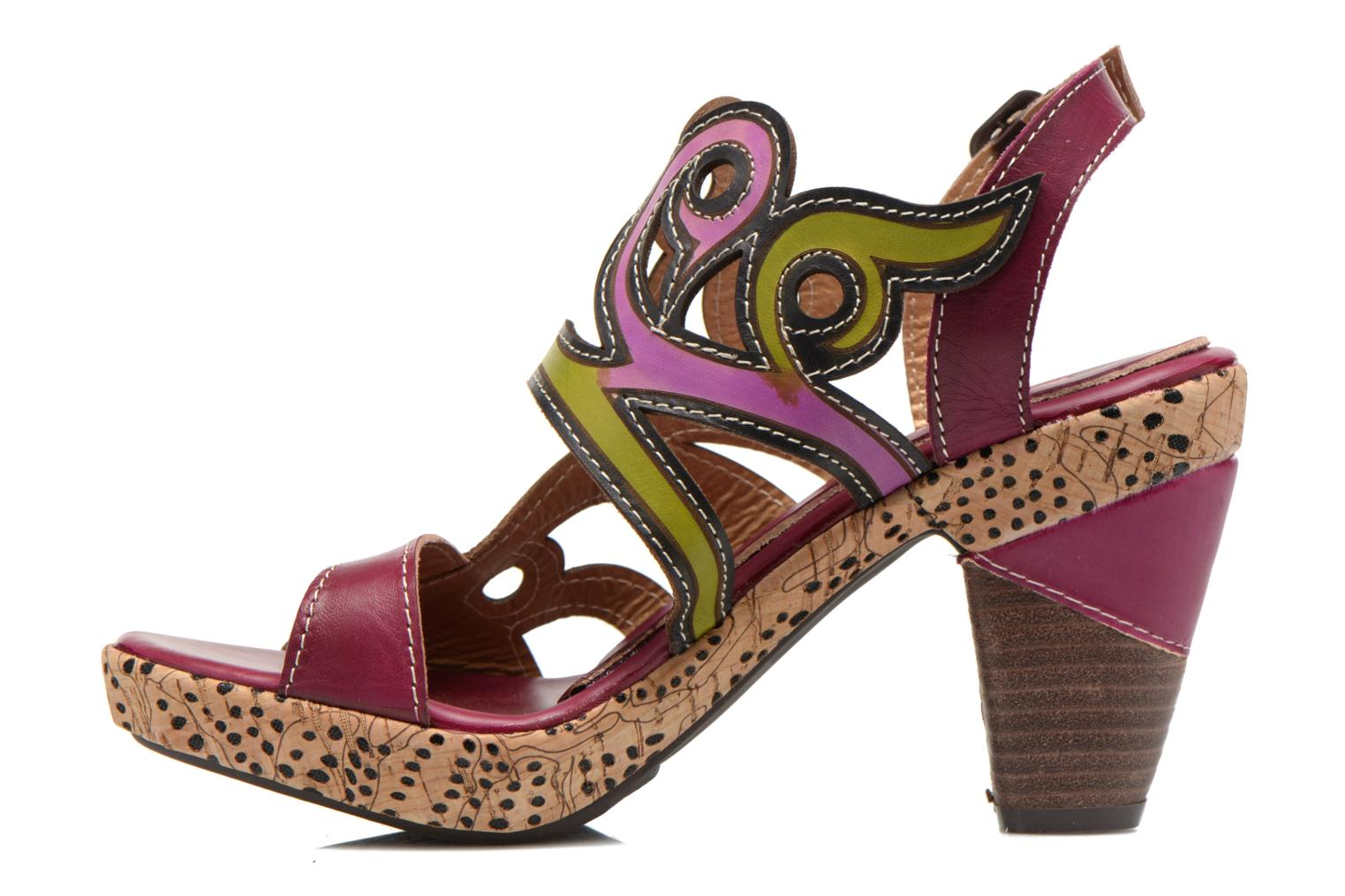 Sandalias Laura Vita Vessa Multicolor vista de frente