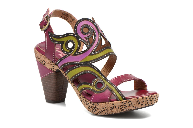 Sandals Laura Vita Vessa Multicolor detailed view/ Pair view