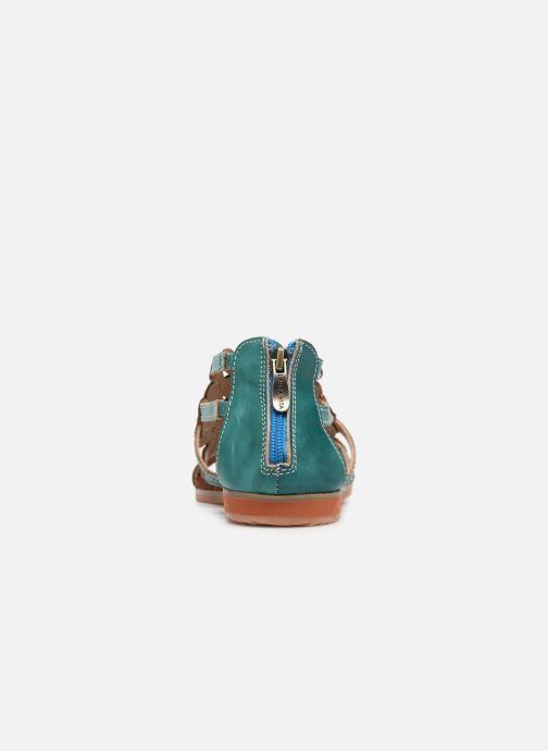 Sandales et nu-pieds Laura Vita Vaca Multicolore vue droite
