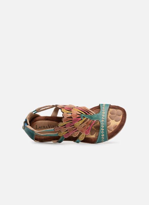Sandales et nu-pieds Laura Vita Vaca Multicolore vue gauche