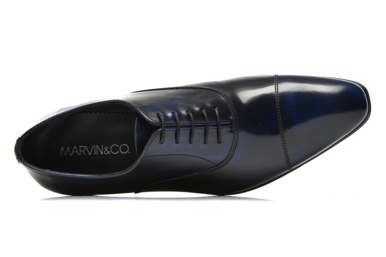 Chaussures à lacets Marvin&Co Parado Bleu vue gauche