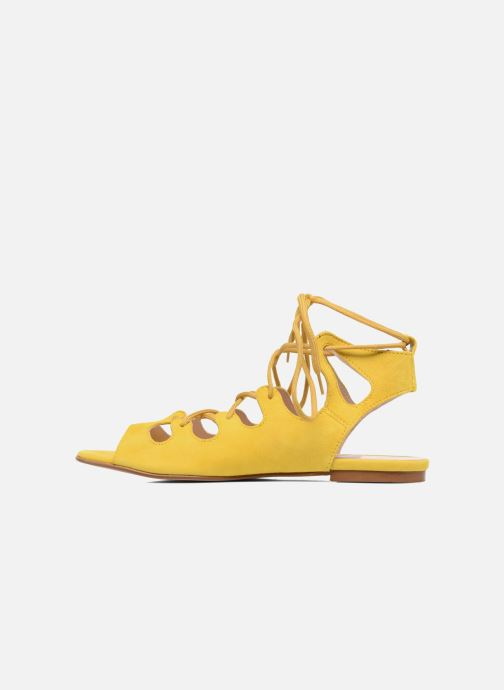 Sandales et nu-pieds Georgia Rose Gilize Jaune vue face