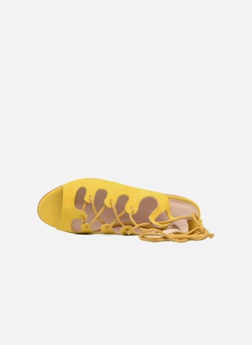Sandales et nu-pieds Georgia Rose Gilize Jaune vue gauche