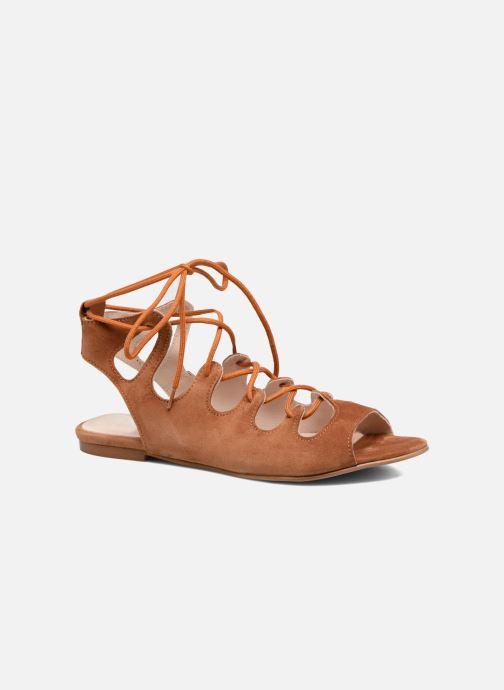 Sandales et nu-pieds Georgia Rose Gilize Marron vue détail/paire