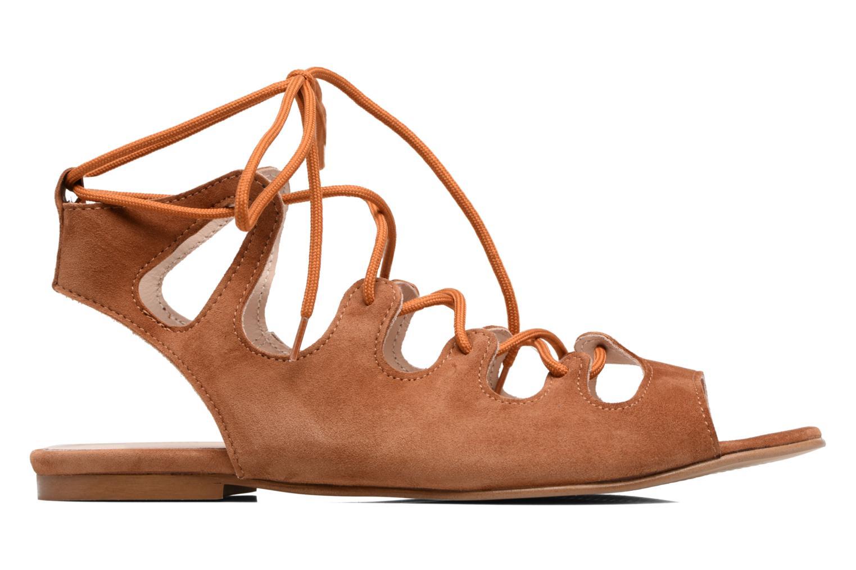 Sandales et nu-pieds Georgia Rose Gilize Marron vue derrière