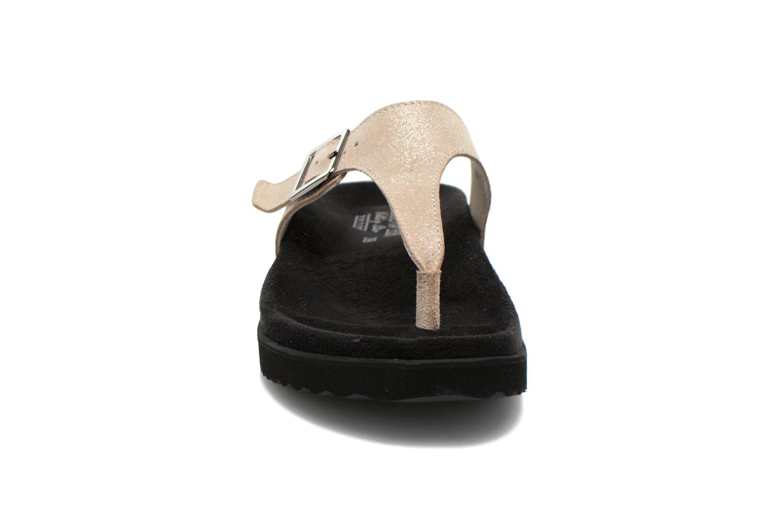 Mules et sabots Giesswein Verona Beige vue portées chaussures