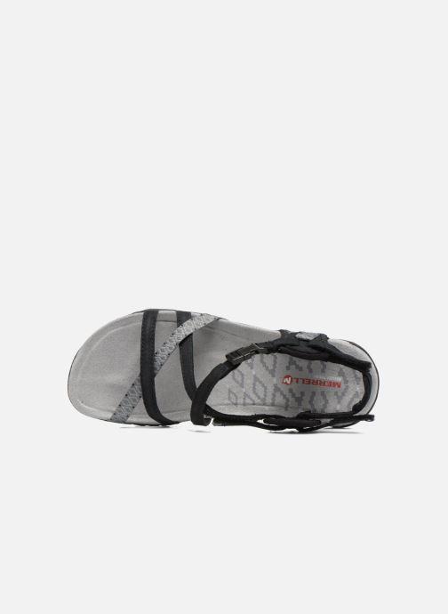 Chaussures de sport Merrell Terran Lattice II Noir vue gauche