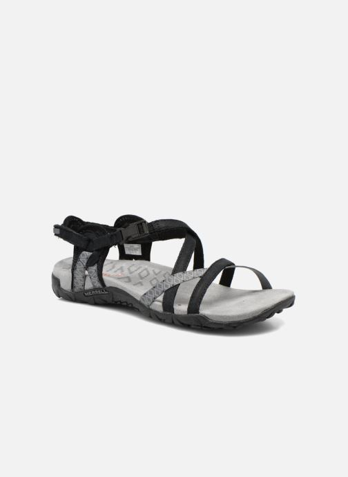 Chaussures de sport Merrell Terran Lattice II Noir vue détail/paire