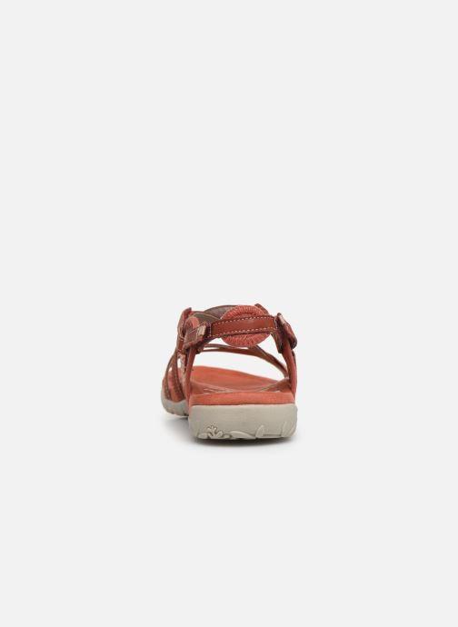 Chaussures de sport Merrell Terran Lattice II Rouge vue droite