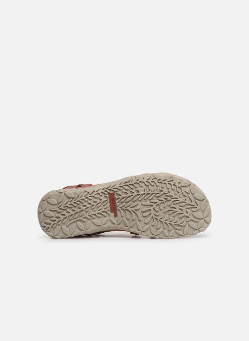 Chaussures de sport Merrell Terran Lattice II Rouge vue haut