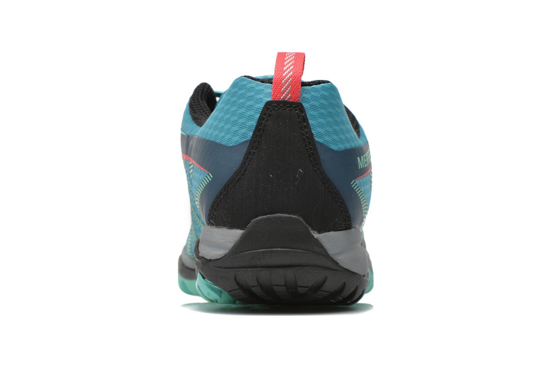 Chaussures de sport Merrell Siren Edge Vert vue droite