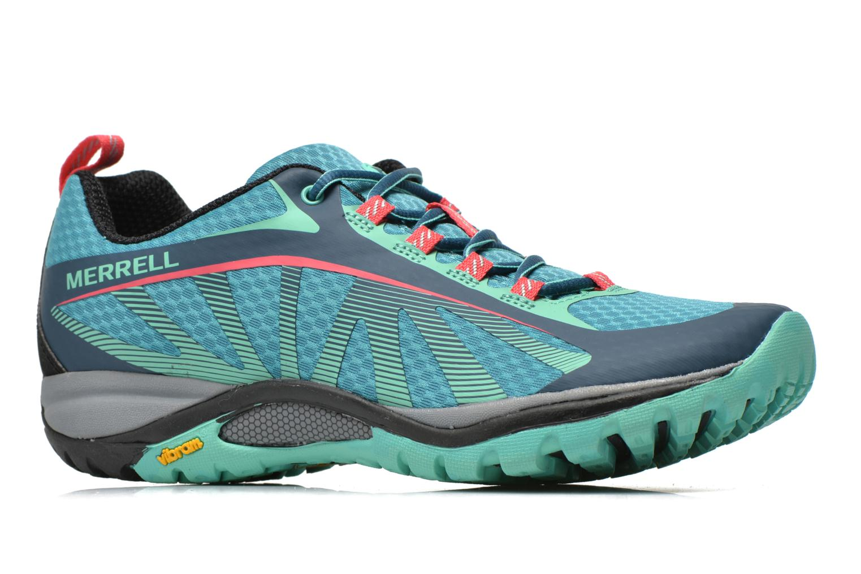 Chaussures de sport Merrell Siren Edge Vert vue derrière