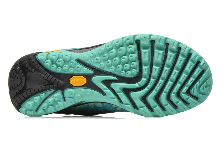 Chaussures de sport Merrell Siren Edge Vert vue haut