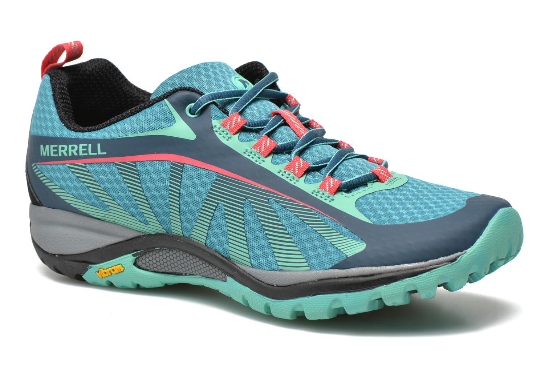 Chaussures de sport Merrell Siren Edge Vert vue détail/paire